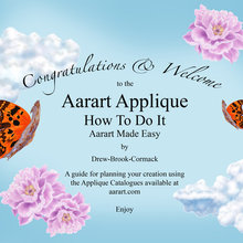 Aarart Applique, How To Do It, Aarart Made Easy