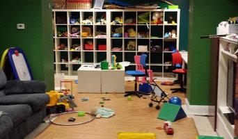 Playroom Organizing by Organize Don't Agonize