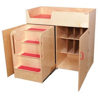 Kid's Play Deluxe Changing Table, Natural