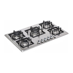 "Empava Appliances Inc. - Empava 34"" Stainless Steel Built-in 5-Burner Stove Gas Cooktop - Cooktops"