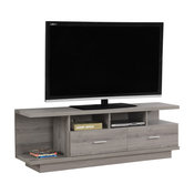 "Monarch 60"" TV Stand in Dark Taupe"