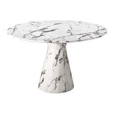 - Faux marble table - Matbord