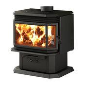 Osburn 2200 Wood Burning Stove Complete High Efficiency Pedestal Stove