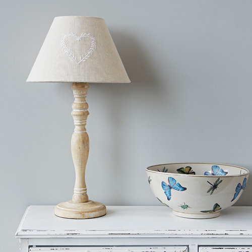 country lamp and shade - Table Lamps