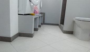 Nuovo bagno lavanderia