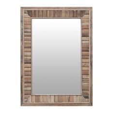 "Cromer Rustic Wall Mirror, 29""x40"""