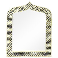 Sara Bone Inlay Wall Mirror