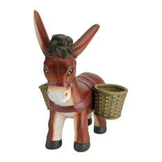Pancho the Burro Planter Sculpture