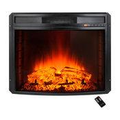 "AKDY 28"" Electric Fireplace Firebox Heater Freestanding Insert, Remote Control"