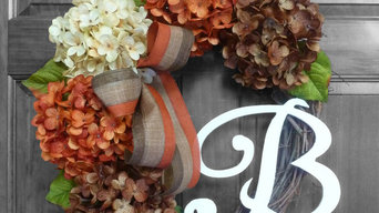 Fall Wreaths for Front Door Decorating