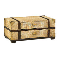 Hammary Furniture - Boracay Trunk Cocktail by Hammary, Natural - Coffee Tables