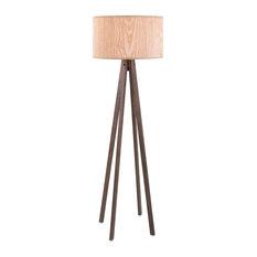 Imax Meridian Wood Floor Lamp