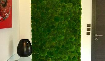 Le Mur Vert show Rio décoration végétal  stabilisé  d'intérieur