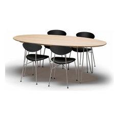 Table Zen ovale fixe