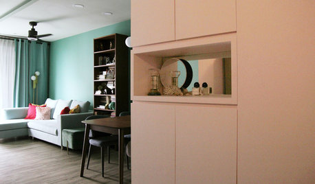 My Houzz: A Little Girl's Favourite Hues Define Her Family's Home