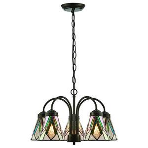 Astoria 5-Light Downlight Pendant, 40 W