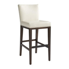 Nailhead Trim Bar Stool | Houzz