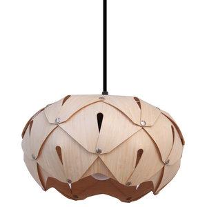 Cynara Wood Lampshade, Bamboo, Small, Classic