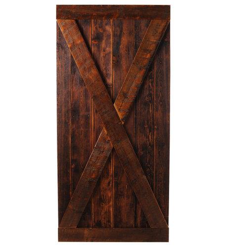 Big Sky Barn Doors - Madison Door, Finished, 50x97 - Interior Doors