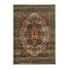 "Casa Old World Persian Red and Multi Rug, 7'10""x10'10"""
