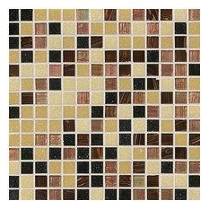Desert Sunset 3/4x3/4x4Mm, Iridescent, Glass, Mosaics