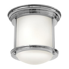 Hinkley Hadley Foyer Small Flush Mount, Chrome
