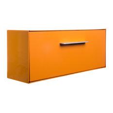Modbox USA, Inc. - Modern Mailbox, Wall Mounted Modbox, Pumpkin, Orange - Mailboxes