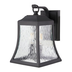 """The Great Outdoors 72463-66 Cassidy Park 3 Light 15-1/2"""" Tall Outdoor Wall Scon"""