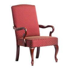 Derby Accent Chair, Red, 26x28.50x42