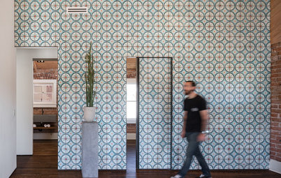 12 Ways to Wow With Patterned Tiles