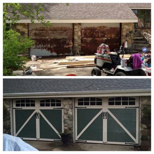 Garage Door Refacing Business We Starteded Pricing Advice Or Wh