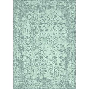 Karamea Pazyryk Rug, Washed Turquoise, 240x340 cm