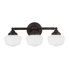 Academy 3-Light Wall Bath Heirloom Bronze