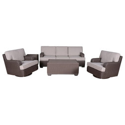 Tropical Outdoor Lounge Sets by iPatio Furniture