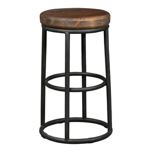 "Kendall Counter Stool, 24"" by Kosas Home"