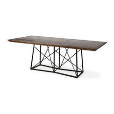 Morpheus Dining Table, Box A & B, Brown