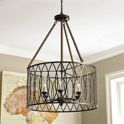 Elegant Industrial Chandeliers Denley Light Pendant Chandelier