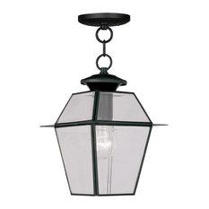Most popular traditional outdoor hanging lights for 2018 houzz livex lighting inc westover 1 light outdoor pendantschandeliers black aloadofball Choice Image