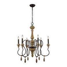 Dimond Salon De Provence Six Light Chandelier 1202-001
