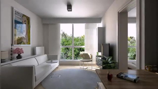 Studio Apartment_Minimalist Living Room
