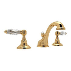 Rohl Viaggio 1.2 GPM Lavatory Faucet with 2 Lever Handles, Italian Brass