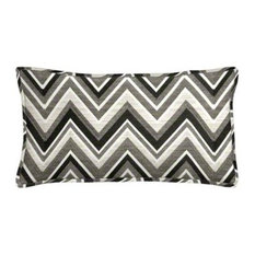 cushion source sunbrella fischer graphite outdoor lumbar pillow set outdoor cushions and pillows