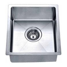 "Dawn BS121307 14"" Single Bowl Undermount 18 Gauge Stainless Steel Bar Sink"
