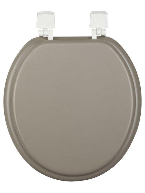 Accessoires de toilettes - Deco toilettes taupe ...