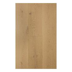 "5/8""x9.5"", Prefinished Engineered Wood Oak Flooring, Laguna Natural"