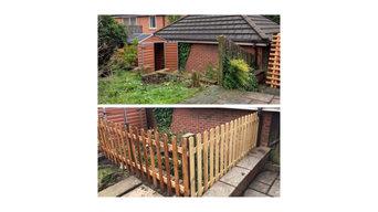 Wooden Garden Fencing
