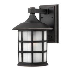 Hinkley Freeport Outdoor Medium Wall Mount Lantern, Olde Penny
