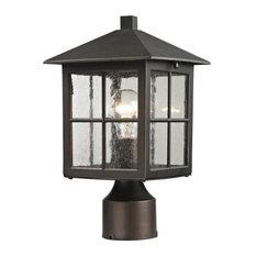 Shaker Heights 1 Light Post Light or Accessories in Hazelnut Bronze