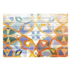 "Parvez Taj Art Print On White Pine Wood, 24""x32"""