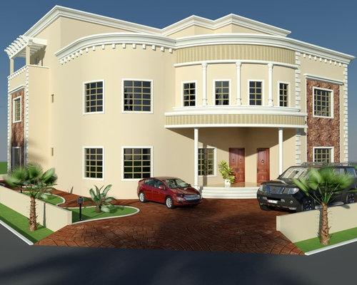 Front Elevation Of Houses In Uae : Beautiful villa design duplex d front elevation arabian